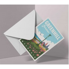 Greenhill Gardens Greeting Cards