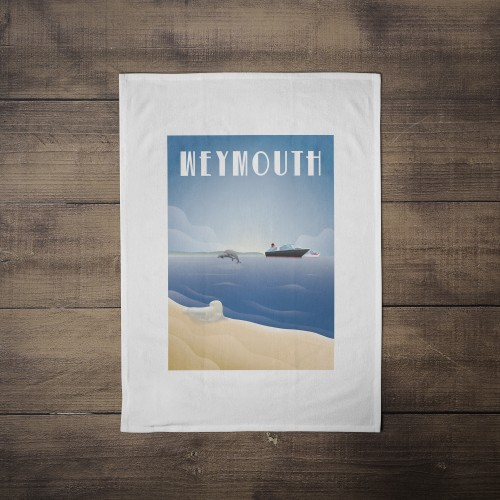 Weymouth Tea Towel