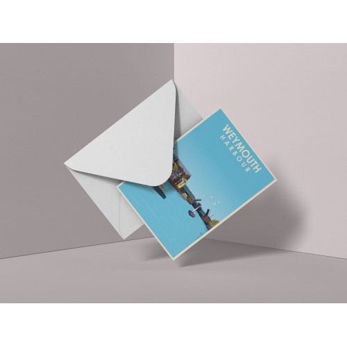 Weymouth Harbour Greeting Cards