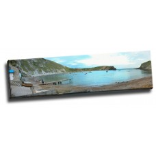 Lulworth Cove Panoramic 30x8 Inches