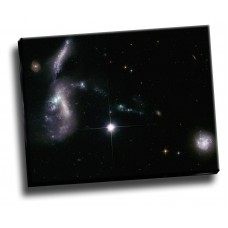 Ancient Galaxies Come Together 26x20