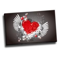 Angel Heart Wings