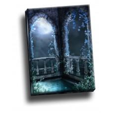 Beautiful Decay Balcony Gothic