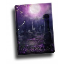 Beautiful Decay Purple Gothic