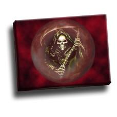 Grim Reaper In Orb