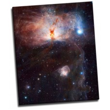 Hidden Fires Flame Nebula 26x32