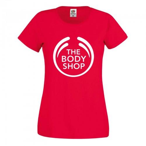 Red Body Shop Tee Shirt