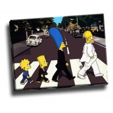 Simpsons Abbey Road